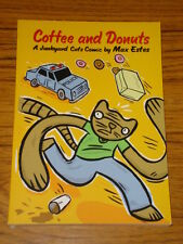 COFFEE AND DONUTS GRAPHIC NOVEL JUNKYARD CATS MAX ESTES 9781891830808