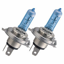 PHILIPS BlueVision Ultra H4 Upgrade Car Headlight Bulb - TWIN PACK