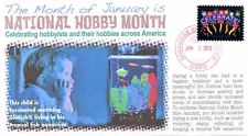 COVERSCAPE computer designed January National Hobby Month event cover