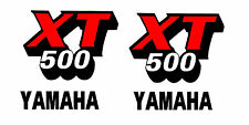 kit adesivi serbatoio yamaha xt 500 1981 epoca SPEDIZIONE GRATUITA CON CORRIERE
