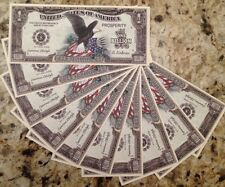 BILLION DOLLAR AMERICAN EAGLE NOVELTY BANKNOTES LOT OF (10) FROM A USA SELLER !!