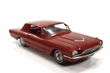 Vintage 1966 Ford Thunderbird Maroon Dealer Promo Model Car TBird