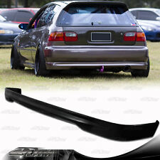 Type R Style Polyurethane Rear Bumper Lip Wing For 92-95 Honda Civic Hatchback