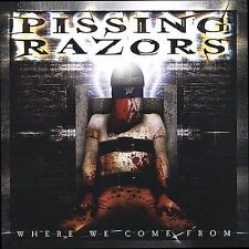 1 CENT CD Where We Come From - Pissing Razors