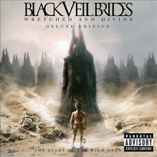 BLACK VEIL BRIDES WRETCHED AND DIVINE DELUXE EDITION CD/DVD SET FREE SHIPPING!!!
