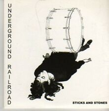 (AZ940) Underground Railroad, Sticks And Stones - DJ CD