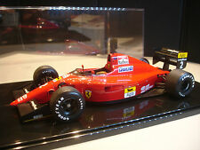 FERRARI 641/2 F1 1990 GRAN PRIX OF MEXICO N.MANSELL #2 1/18 EXOTO + DISPLAY CASE