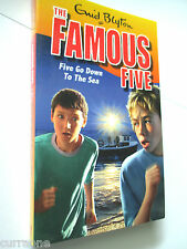 Enid Blyton Famous Five FIVE GO DOWN TO THE SEA sc 2010