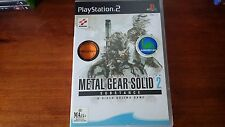 Metal Gear Solid 2 Substance Sony Playstation 2 PS2 Complete Collectors Edition