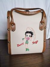 Brand New BETTY BOOP Hard Case, Travel Luggage, Suitcase, Makeup, Embroidered