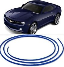 BLUE MICRO 4mm TRIM STRIP MOLDING - UNIVERSAL INTERIOR CAR STYLING DIY TRIM KIT