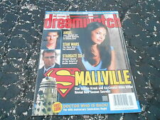 #111 DREAMWATCH vintage movie tv magazine (UNREAD) - SMALLVILLE