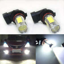 2x HID White 9005 HB3 9011 High Power COB LED Car High Beam DRL Replacement Bulb