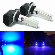 2X 881 Blue COB LED Fog Lights 12W Daytime Driving Bulbs 886 889 894 896 898 862