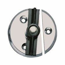 "Perko Fig. 1216 Door Button with Spring 1216 DP0 CHR 1-3/4"" OD MD"