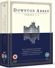 NEW Downton Abbey  Series 1-4 plus  CHRISTMAS Specials PAL Region 2
