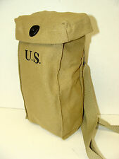 1942 THOMPSON SMG KHAKI MAG POUCH W/SHOULDER STRAP