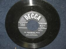 "Guy Lombardo and His Royal canadians""White Christmas/The Anniversary Waltz"" 45"