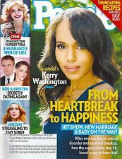 Kerry Washington, Rob Lowe, Brett Dalton, Mariel Hemingway  Nov. 18, 2013 People