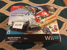 Nintendo Wii U (Latest Model)- Deluxe 32GB Black Handheld System