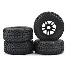 17mm Hex Tire & Wheel For 1:8 Scale RC Short Course Truck TRAXXAS AE HPI 4PCS