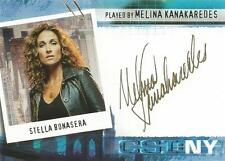 CSI New York Series 1 Auto Card CSI-NY-B2 Melina Kanakaredes as Stella Bonasera