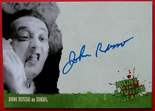 Night of the living dead - ** john russo ** autographe carte-invincible 2012