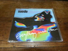SUEDE - Everything will flow !!!! ! RARE CD !! NUD 667800 2 !!!