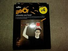 Halloween Inflatable Axe Head New and Sealed Fancy Dress
