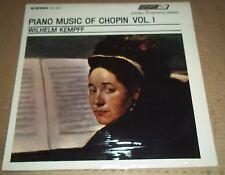 Kempff CHOPIN Piano Music Vol.1 - London STS 15029 SEALED