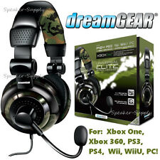 Universal Gaming Elite Wired Headset Camo Xbox One PS4 PS3 PC Over Ear DGUN-2574