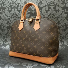 Rise-on LOUIS VUITTON MONOGRAM ALMA Handbag Satchel Purse Sac a Main #250 Ft