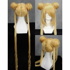 PARRUCCA SAILOR MOON COSTUME PRETTY GUARDIANS WIG COSPLAY ACCESSORIO MANGA ANIME