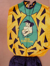 1972 FRED FLINTSTONE Halloween Costume ben cooper *No Box,No Mask,hanna barbara