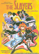 Slayers - DVD Collection (DVD, 4-Disc Set)- complete series