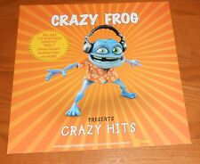Crazy Frog Crazy Hits 2-Sided Flat Square Promo Poster 12x12