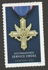 US 5065 Service Cross Medals Distinguished forever single MNH 2016