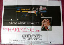 Cinema Poster: HARCORE LIFE, THE 1979 (Quad) George C. Scott Peter Boyle