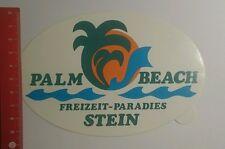 Aufkleber/Sticker: Palm Beach Freizeit Paradies Stein (18091650)