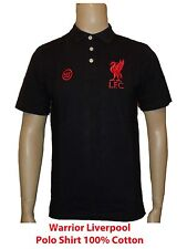 Liverpool 100% Cotton Polo Black  Size Medium AWSTM217