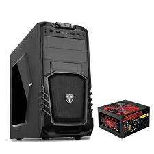 AvP STORM 27 BLACK ATX GAMING CASE - 750W 6-PIN PSU - USB 3.0 INC 120MM REAR FAN