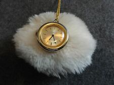 Baroness 17 Jewels Vintage Wind Up Necklace Pendant Watch - Not Working