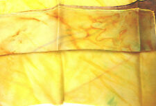 New Silk Long Scarf N4 handpainted 180x45 cms. Unique design