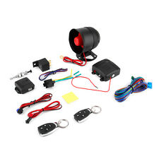 1 Car Vehicle Burglar Protection System Alarm Security+2 Remote Control FJUS