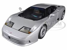 BUGATTI EB110 GT SILVER 1/18 DIECAST MODEL CAR BY AUTOART 70979