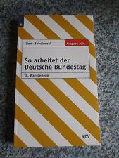 So arbeitet der Deutsche Bundestag, 18. Wahlperiode, 2014