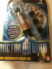 Dr who Screwdriver [rojector toy New in sealed package