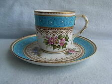 Antique English Porcelain Minton? Cup & Saucer