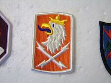 ARMY FULL COLOR PATCH 22nd SIGNAL BRIGADE CURRENT MANUFACTURER:K6