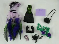 Monster High Amanita Nightshade Outfit Dress Shoes Purse Cell Phone & More